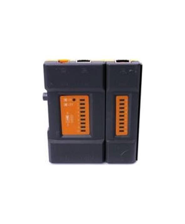 Mini tester analogico cable rj45