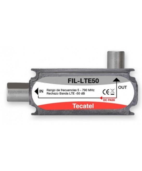 Filtro lte 21-60 50db tecatel conectores pal