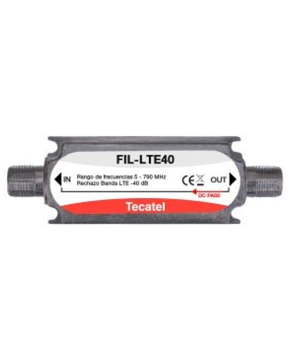 "Filtro lte 21-60 40db tecatel conectores ""f"""
