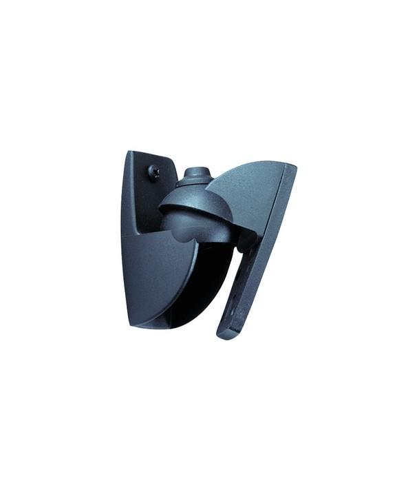 Soporte altavoces mini negro 3.5 kg inclinable