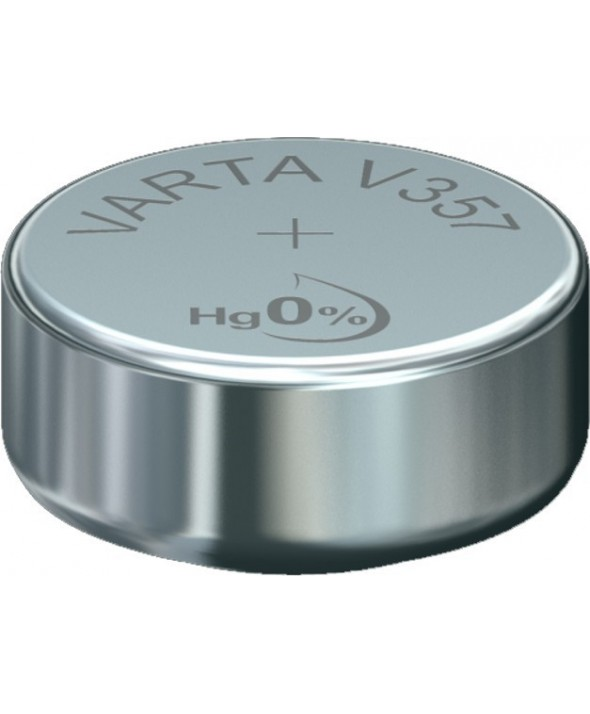 Pila ox de plata 1.55v (sr44sw) 357 1/10 varta