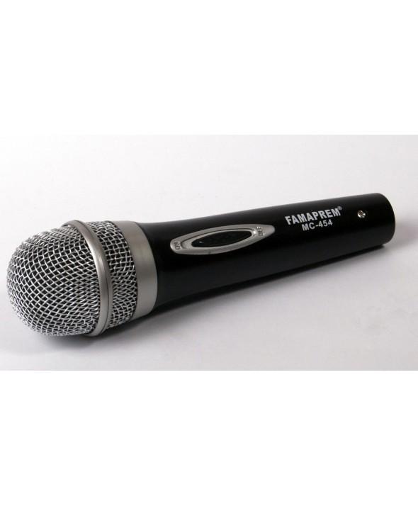 Microfono vocal famaprem box mc454