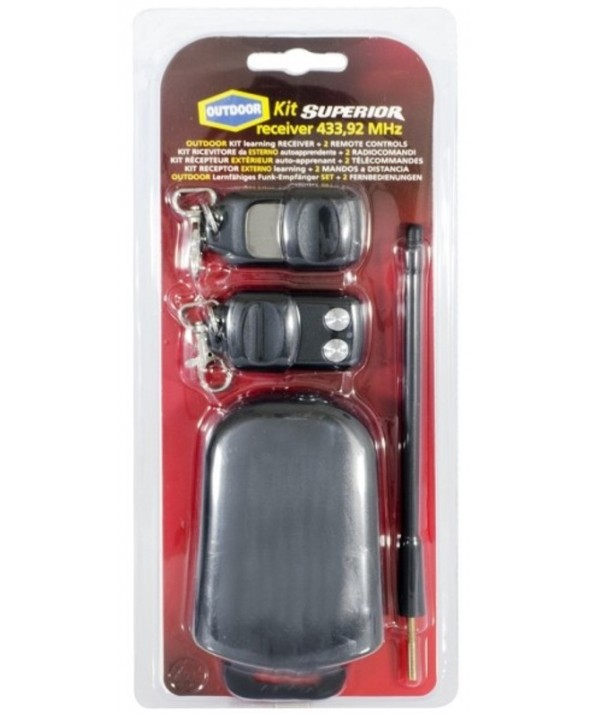 Kit 2 mandos con receptor 433.92mhz superior