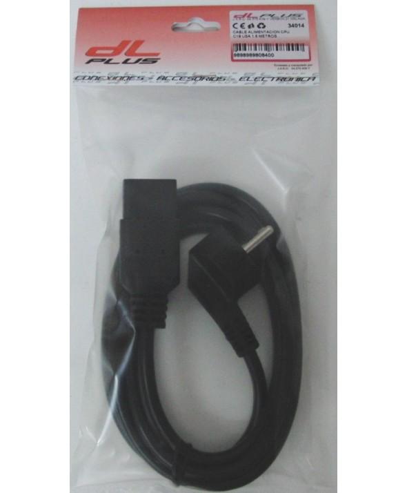 Cable alimentacion cpu c19 usa 1.5 metros