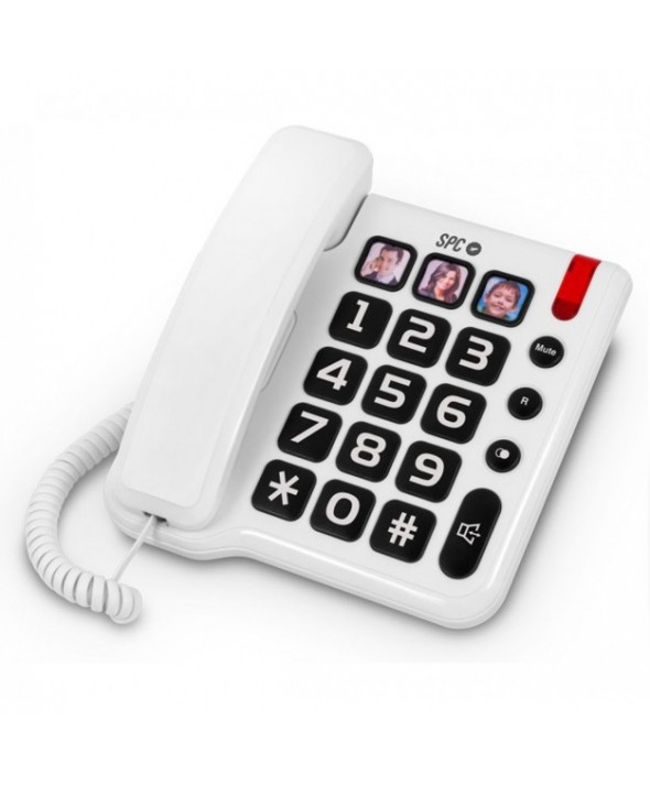 Telefono sobremesa spc confort numbers