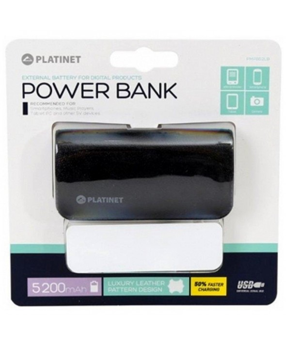 Bateria universal usb 5200 mah platinet
