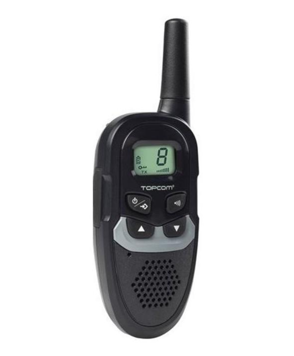 Walkie-talkie 6km 8 canales single topcom