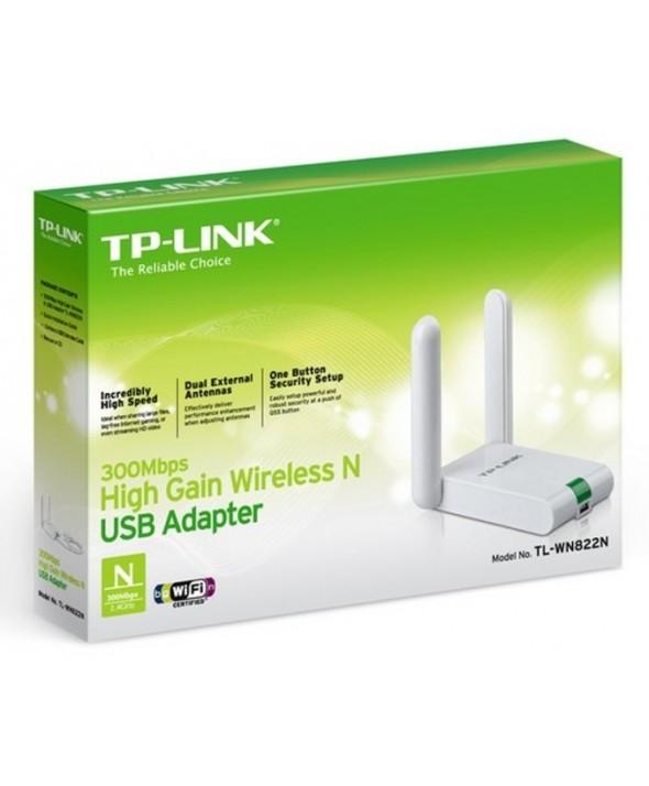 Adaptador wifi tpl usb 300mb 2.4ghz tp-link
