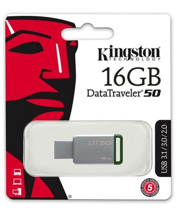 Pen driver 16 gb datatraveler 50 3.1 kingston