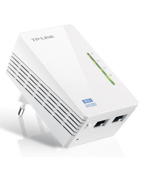 Homeplug wiffi por red electrica av500 tp-link.