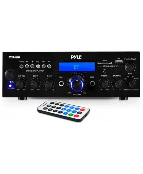 Amplificador hifi 2x200 w multimedia pyle pro