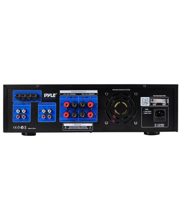 Amplificador hifi 2x300w multimedia pyle pro