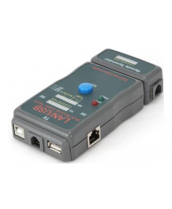 Testeador para cables utp/ftp/usb cab03196