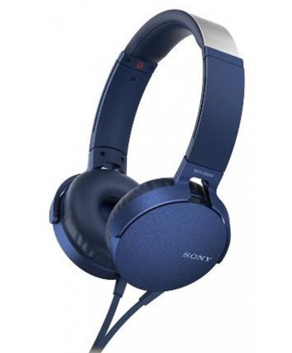 Auricular diadema extra bass sony m/l azul
