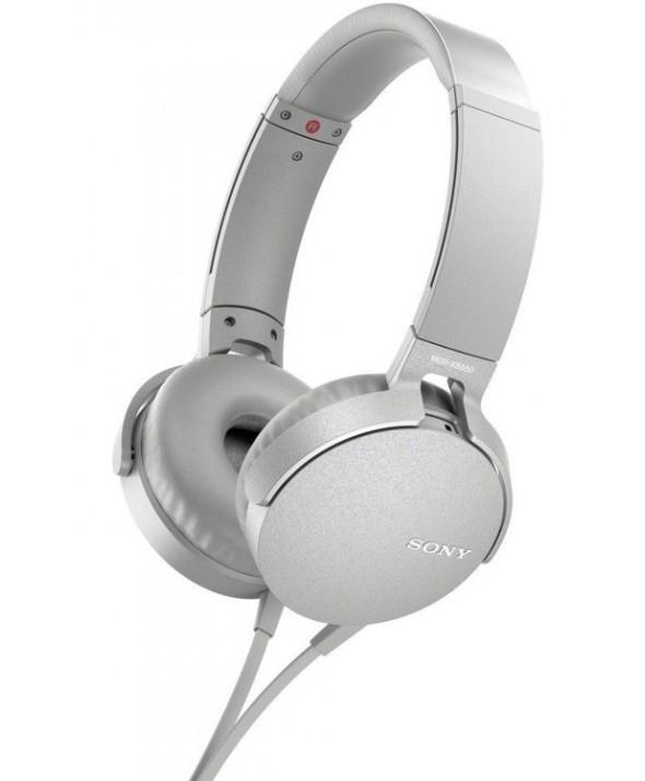 Auricular diadema extra bass sony m/l blanco