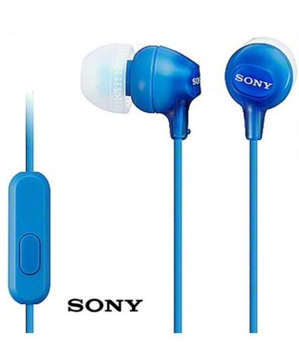 Auricular intraoido silicona sony m/l azul