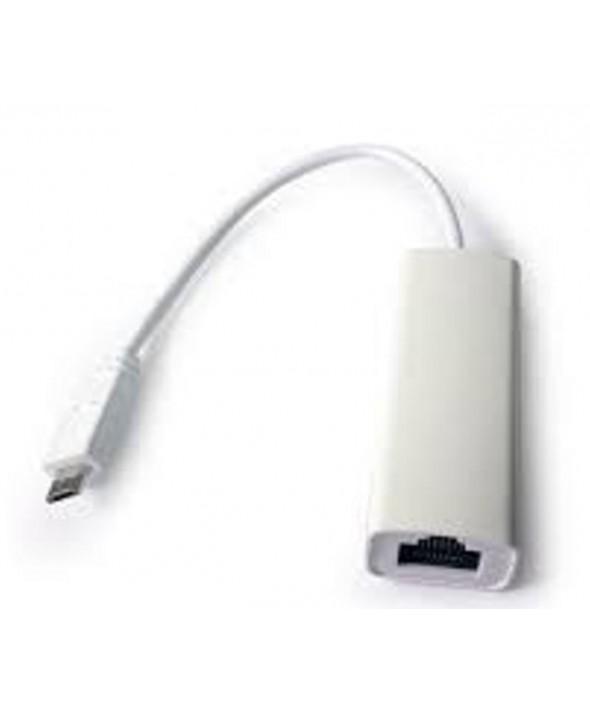 Adaptador micro usb a rj45 ethernet 10/100mb