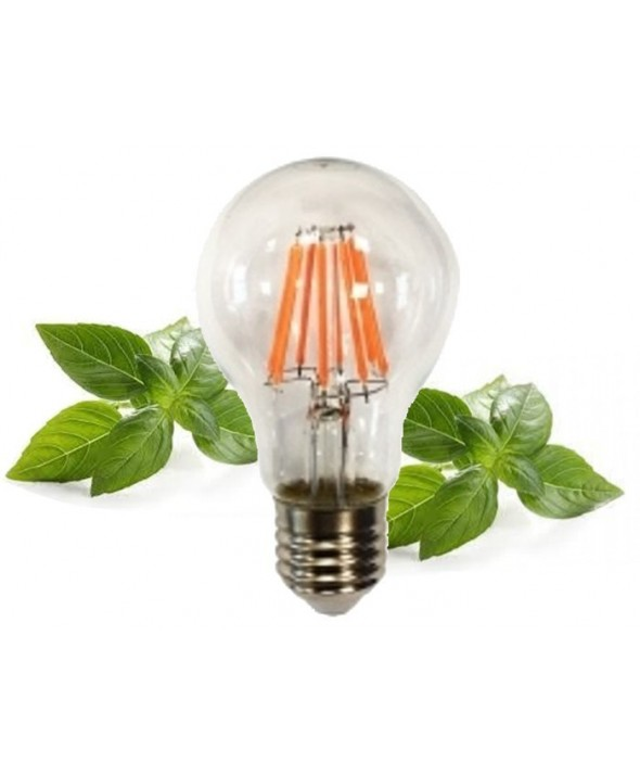 Lampara estandar 8w especial crecimiento plantas f-bright