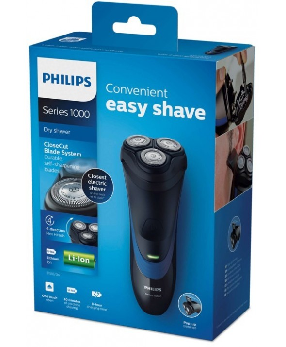 Afeitadora recargable easy shave serie1000 philips