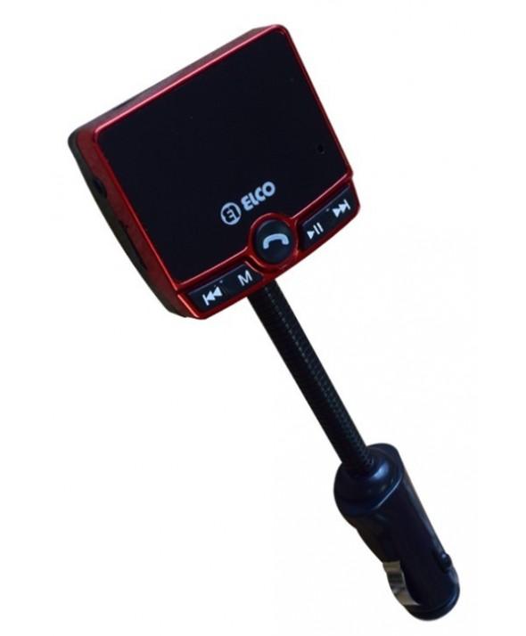 Transmisor fm digital + sd + ent. auxiliar + usb + mp3 + manos libres