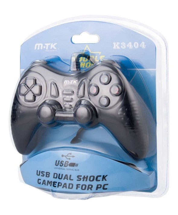 Mando juego pc/usb tipo play twin shoch 2