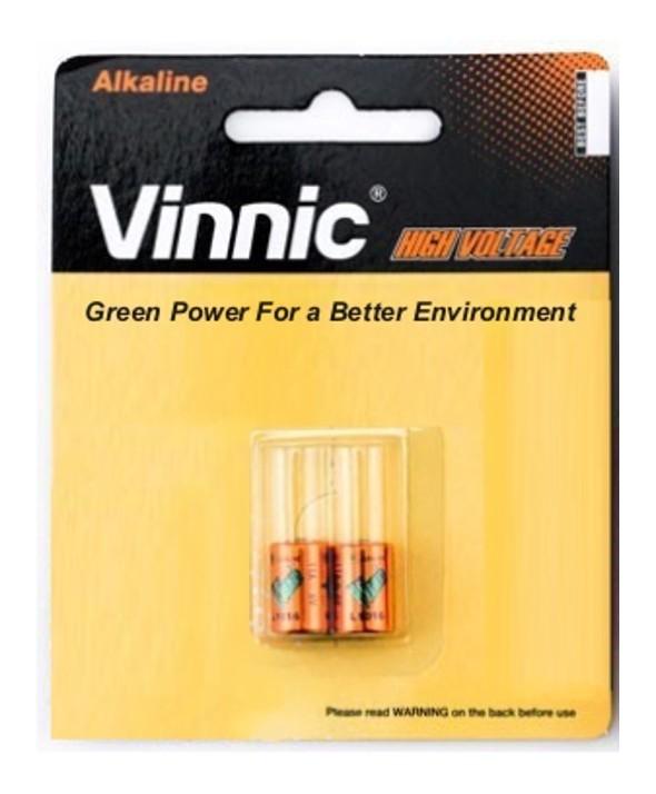Pila alcalina 6v 11a blister 2 unidades vinnic