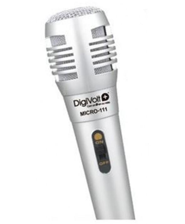 Microfono vocal con cable 3 m micro-111