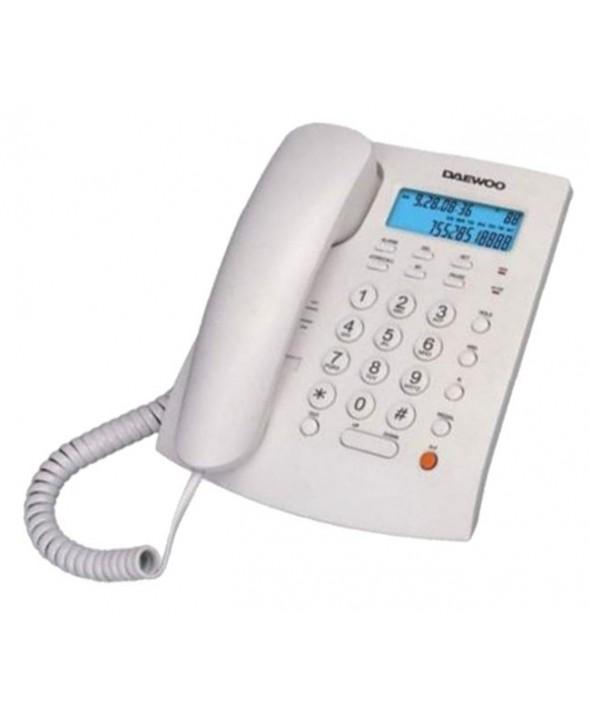 Telefono bipieza sobremesa/mural manos libres digital daewoo