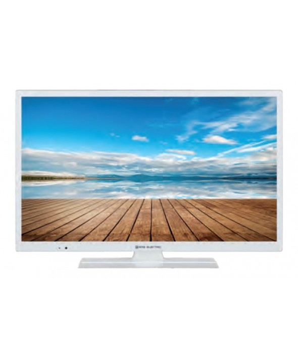 Tv led 24' hd ready 200 hz smart wifi satelite blanca