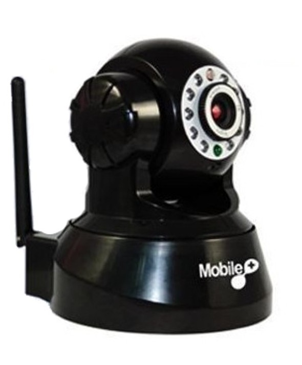 Camara motorizada wireless blanca mobile+