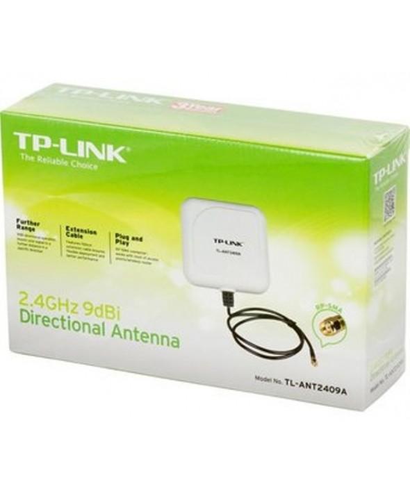 Antena direccional 9dbi sma 2.4ghz tp-link tl-ant2409a