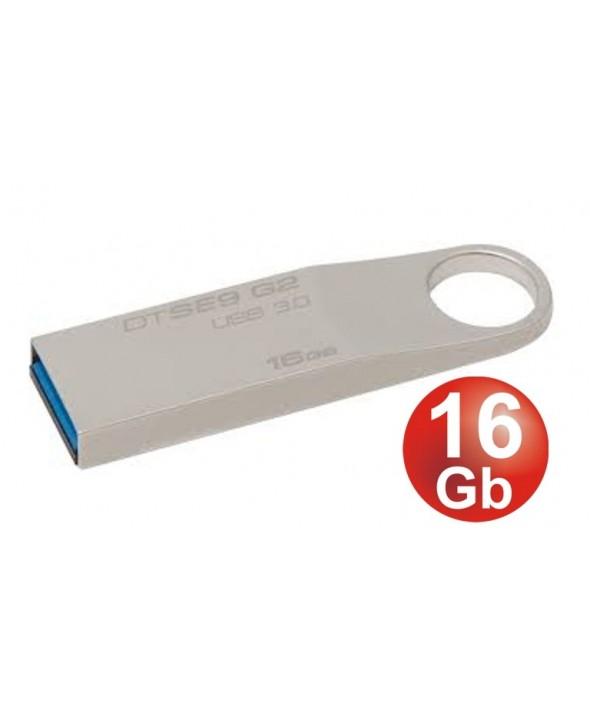 Pen driver 16 gb datatraveler 3.0 se9 kingston