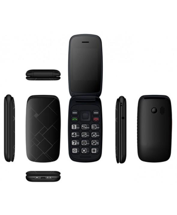Telefono movil concha qubo neo negro