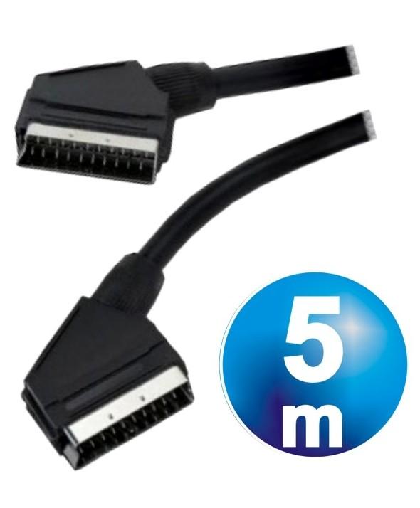 Conexion euro a euro 21 pin 9 mm² 5m