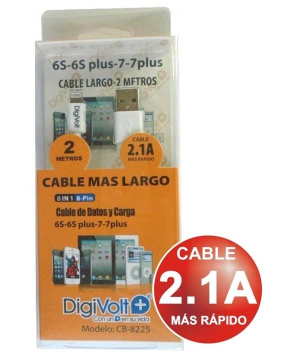 Conexion alimentacion/datos micro usb a usb (a) cable 2m
