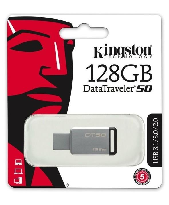 Pen driver 128 gb datatraveler 50 3.1 kingston
