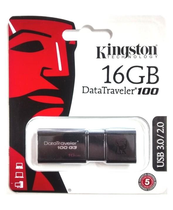 Pen driver 16 gb datatraveler 100 v3.1 kingston