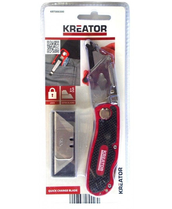 Cuchillo plegable hd kreator