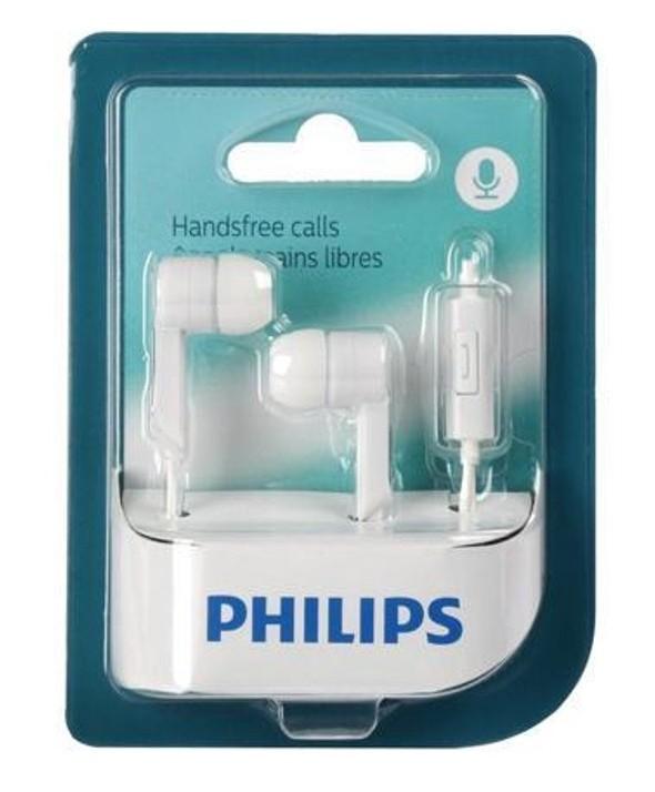Auricular intraoido silicona philips micro blanco