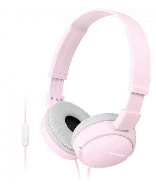 Auricular diadema sony con micro rosa