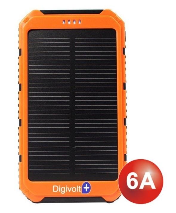 Bateria universal usb 6.000 mah con pantalla solar digivolt