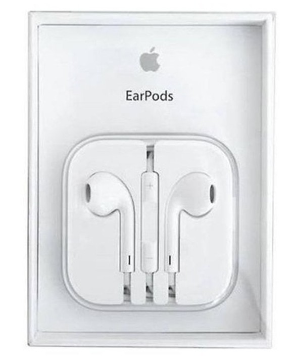Auricular apple-iphone m/l microfono blanco