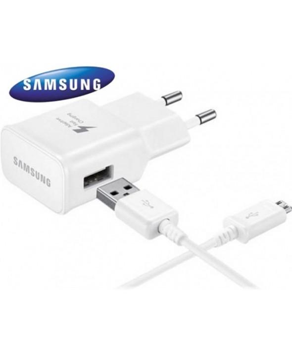 Cargador rapido+cable micro usb samsung 2a