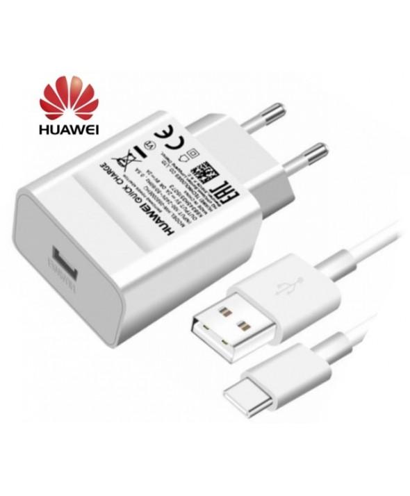 Cargador rapido+cable micro usb 2a 18w 9v huawei