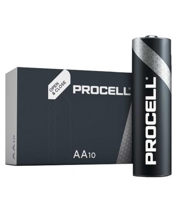 Pila alcalina lr-6 procell-industrial caja 10 unidades