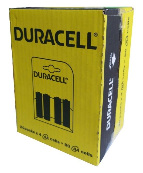 Pila alcalina lr-6 duracell simply nm1500 4 unidades