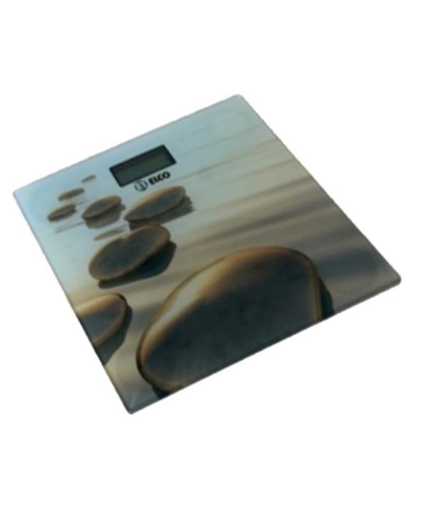 Bascula de baño digital cristal hasta 150 kg elco