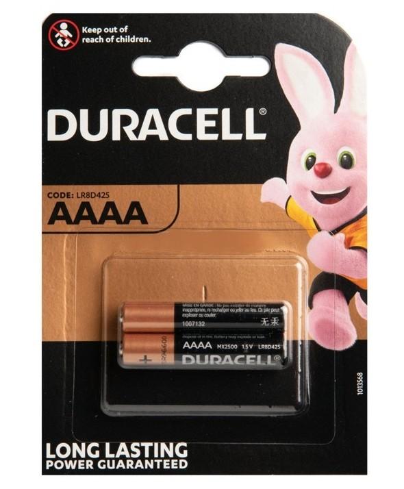Pila alcalina (aaaa) duracell ultra blister 2 unidades