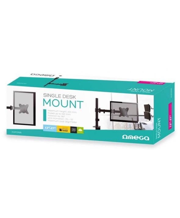 "Soporte monitor 13""-27"" sobremesa 100x100 omega"