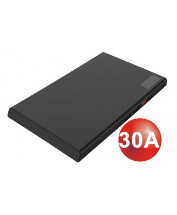Bateria universal usb 30.000 mah platinet negra
